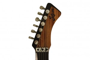 Custom Electric Letain, Carbonfiber Zebrawood, Cedar Unibody Electric Guitar,