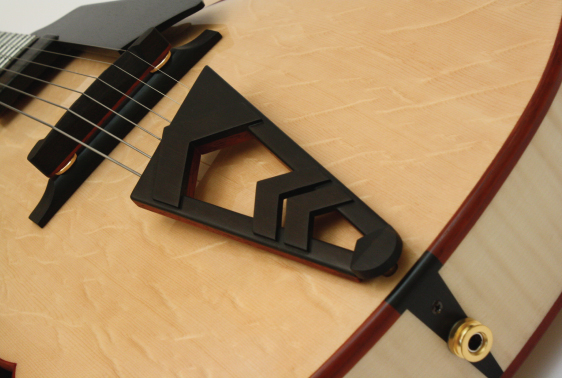 Custom tailpiece Letain Guitars