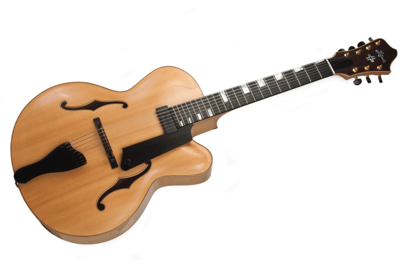 7-String-Archtop-Guitar-Body-Front-View