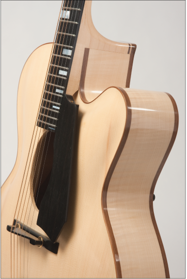 Archtop-Ovalhole-Guitar-Handcarved-Acoustic- Specifications