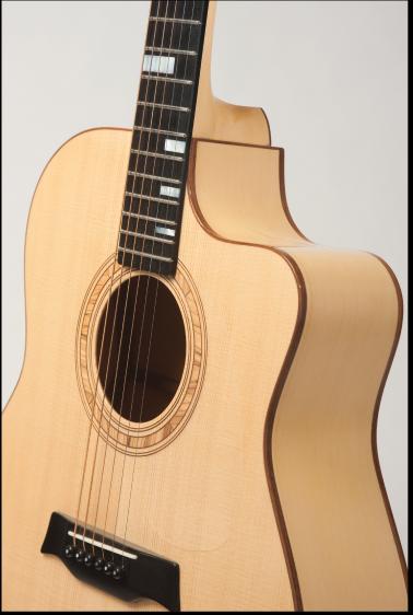 Acoustic Guitar Flattop Cedar